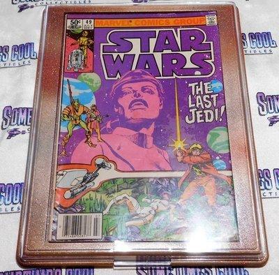 Customized Comic Frame : Star Wars #49 (1981 Marvel Comics)