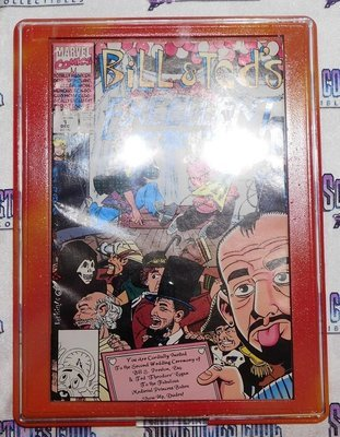 Customized Comic Frame : Bill & Ted #1 (Marvel 1991)