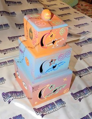 Nightmare Before Christmas - Sally's Stacking Boxes
