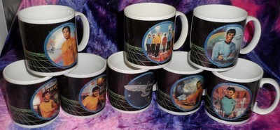 Star Trek Original Crew Mug Set (8)