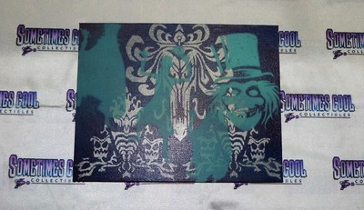 Haunted Mansion Canvas Painting