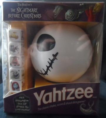 Nightmare Before Christmas Travel Yahtzee