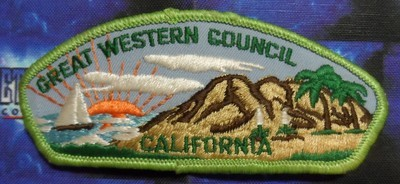Council Patch : Great Western Area Council California