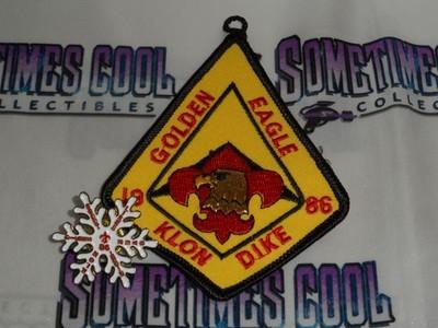 Golden Eagle Klondike 1986 Patch & Pin Set