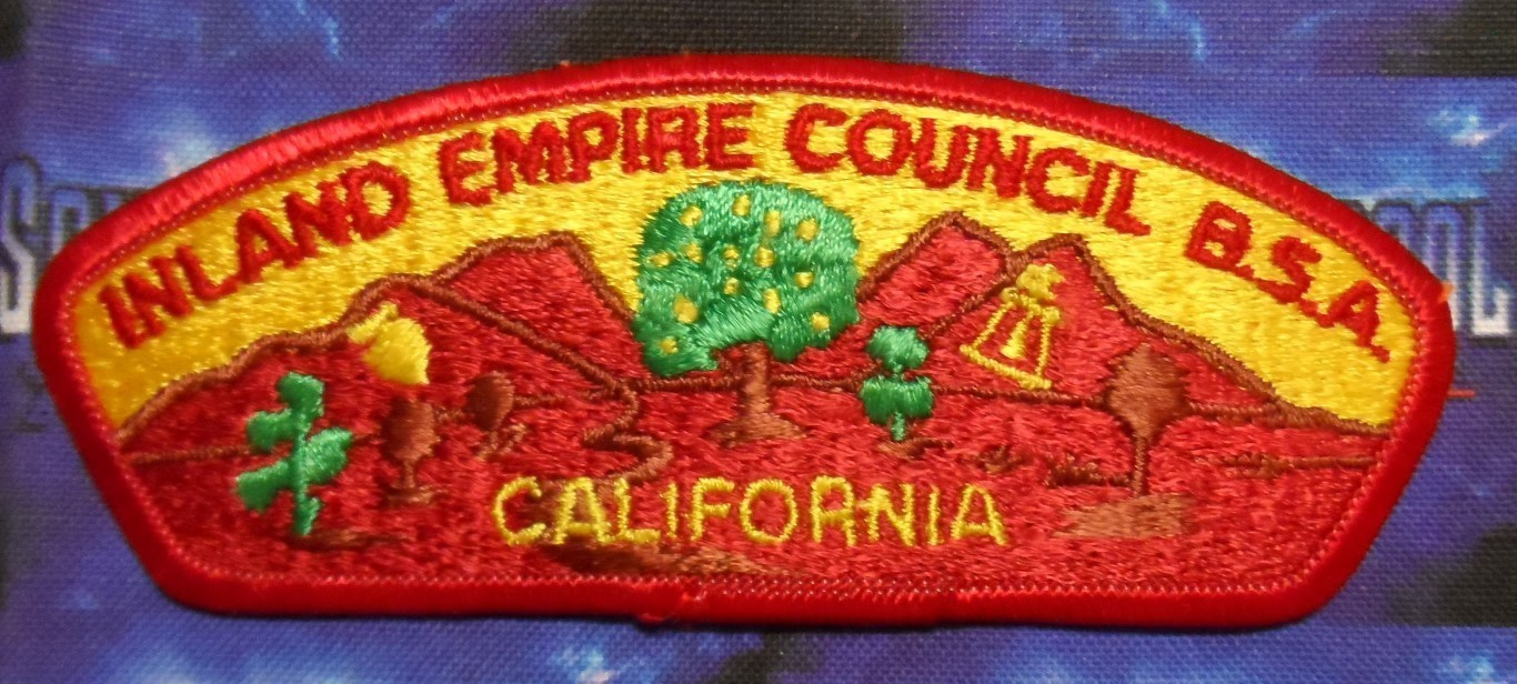 Council Patch : Inland Empire Area Council California