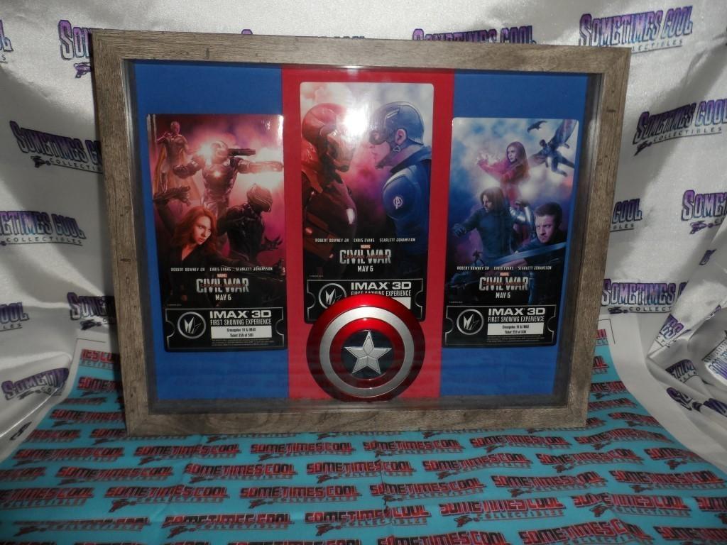 Captain America : Civil War Shadowbox