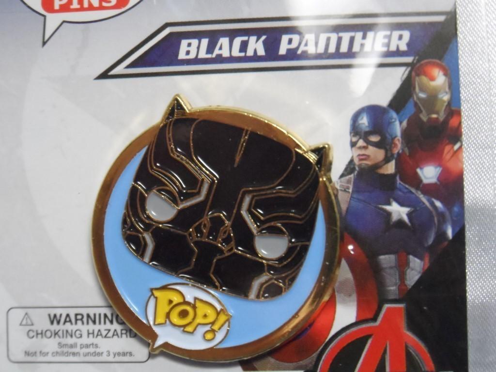 Funko Black Panther Pop! Pin
