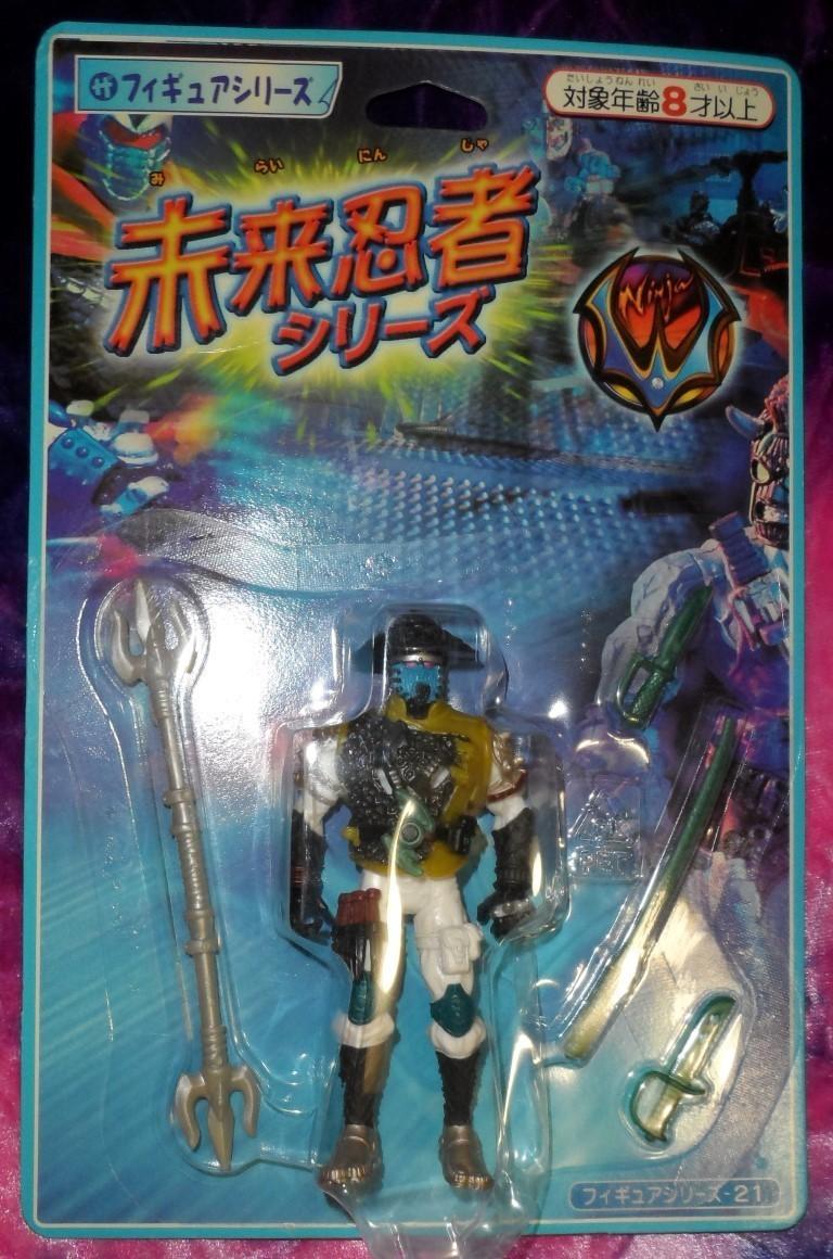 Ninja W action figure