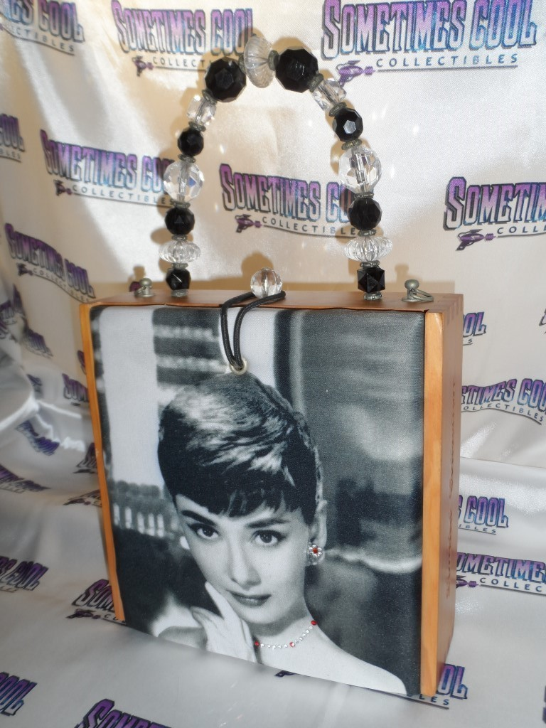 Audrey Hepburn Cigar Box Purse