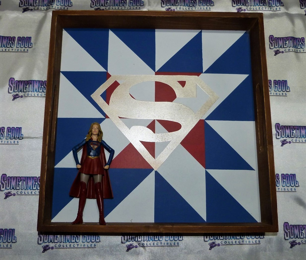 Supergirl Display Piece
