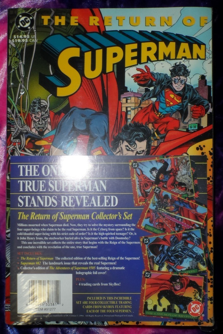 The Return of Superman Collector's Set