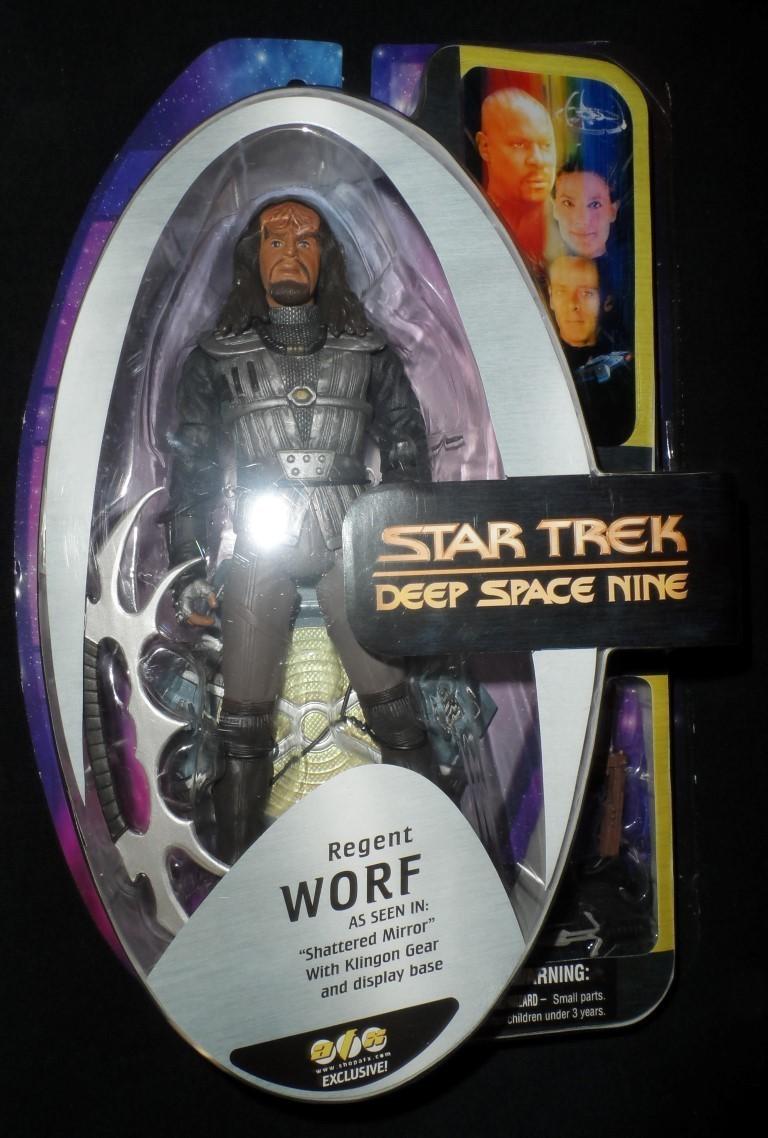 AFX Exclusive Deep Space Nine Regent Worf