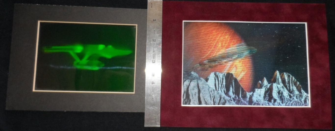 Enterprise Hologram & Lenticular Art Pieces