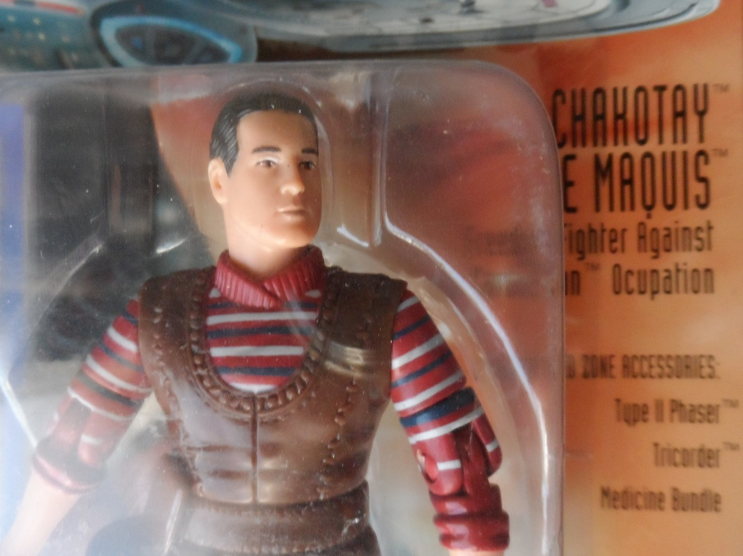Star Trek Voyager Figure - Chakotay the Maquis
