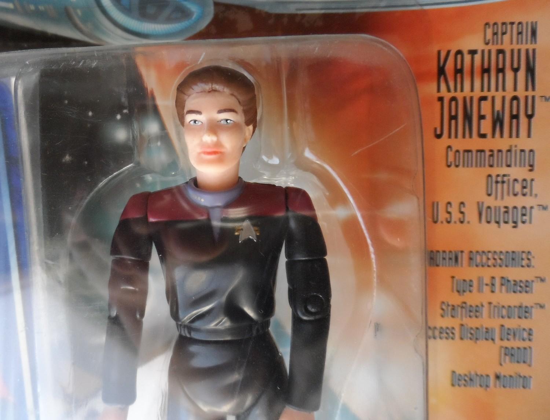 Star Trek Voyager Figure - Captain Kathryn Janeway