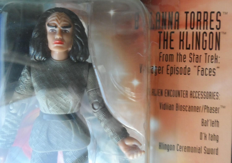 Star Trek Voyager Figure - Lt. B'Elanna Torres Klingon (orange accessories)