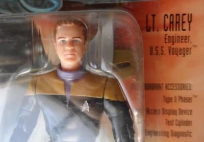 Star Trek Voyager Figure - Lt. Carey