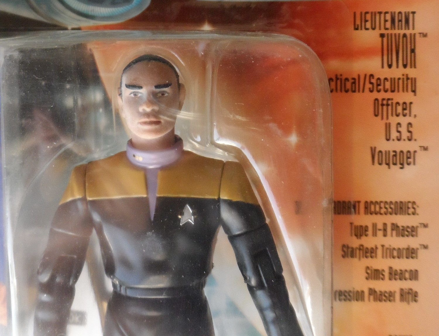Star Trek Voyager Figure - Lt.Tuvok