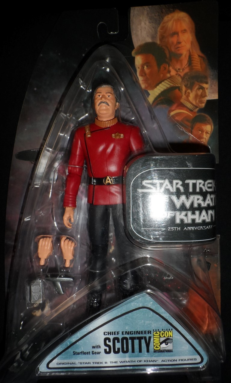 Wrath Of Khan Scotty - 2007 SDCC exclusive