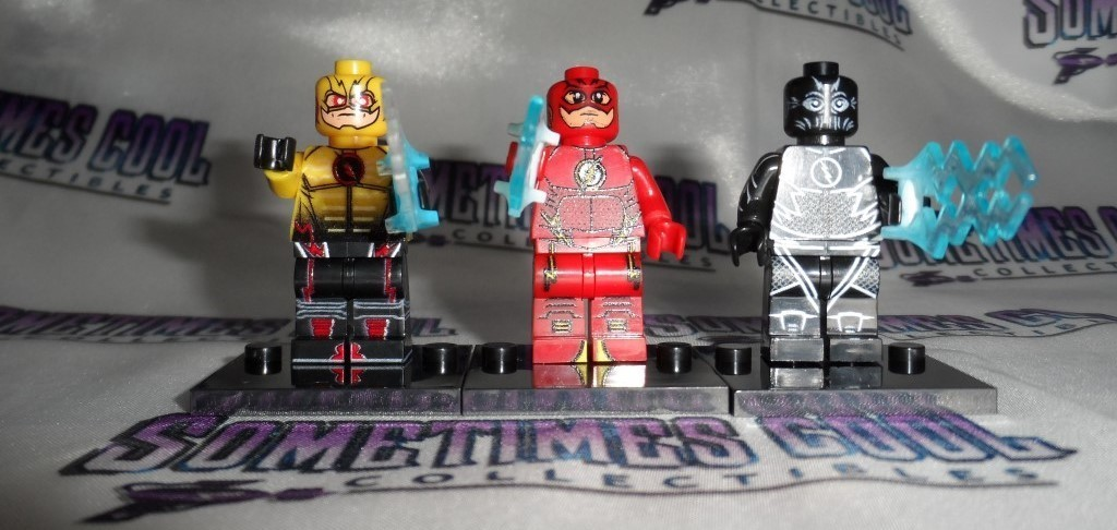 Mini Block Figures : the Flash Set