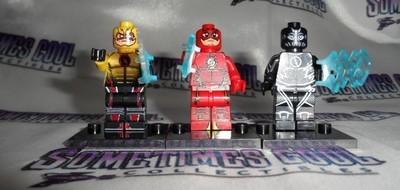 Mini Block Figures : the Flash Set