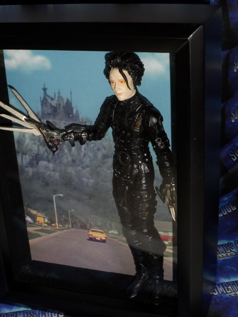 Edward Scissorhands Shadowbox