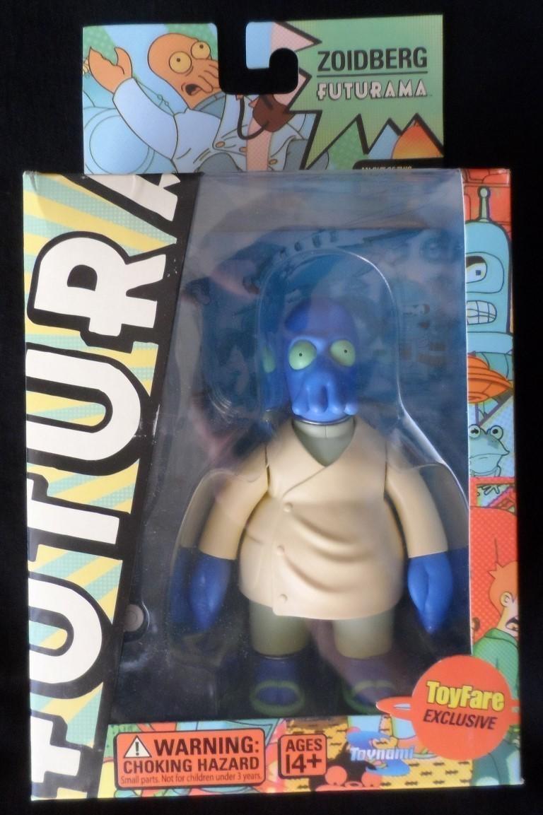 Futurama's Blue Zoidberg Variant