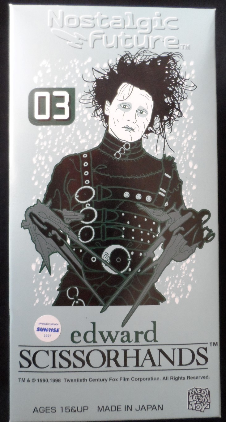 Edward Scissorhands Tin Toy