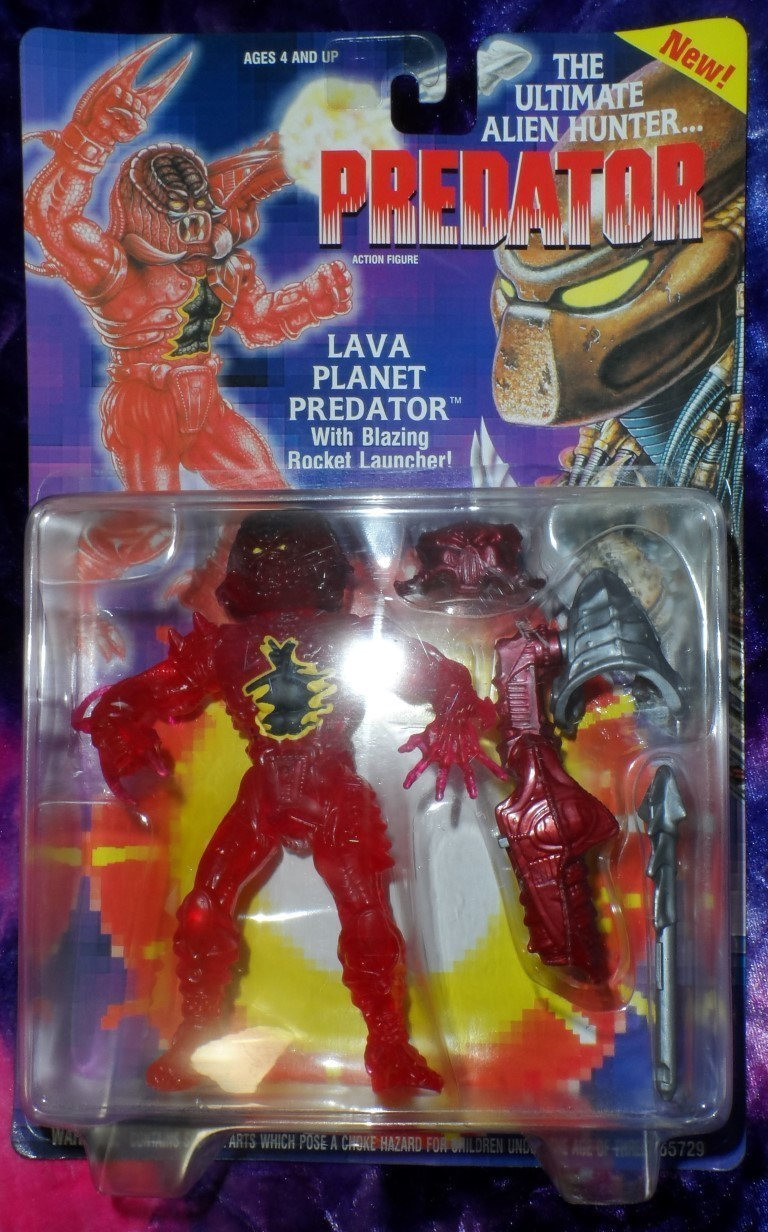 Predator Action Figure - Lava Planet Predator