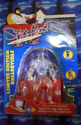 Space Ghost : Coast to Coast Invisible Mode Figure