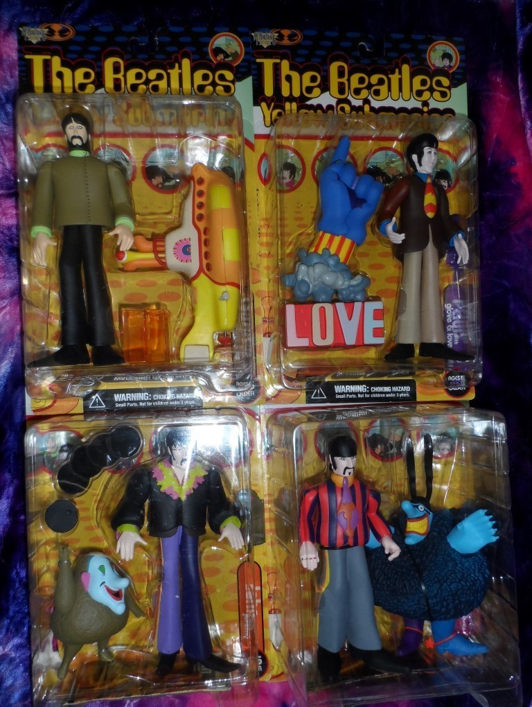 The Beatles Yellow Submarine Figures Set