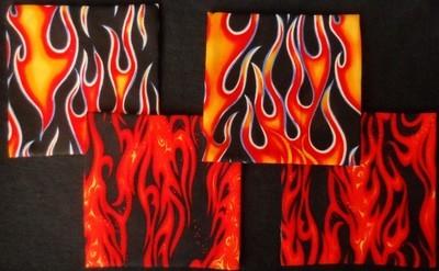 Coasters/Trivets - Flames