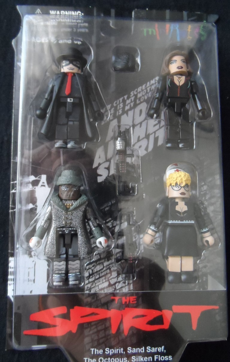 The Spirit Movie MiniMates