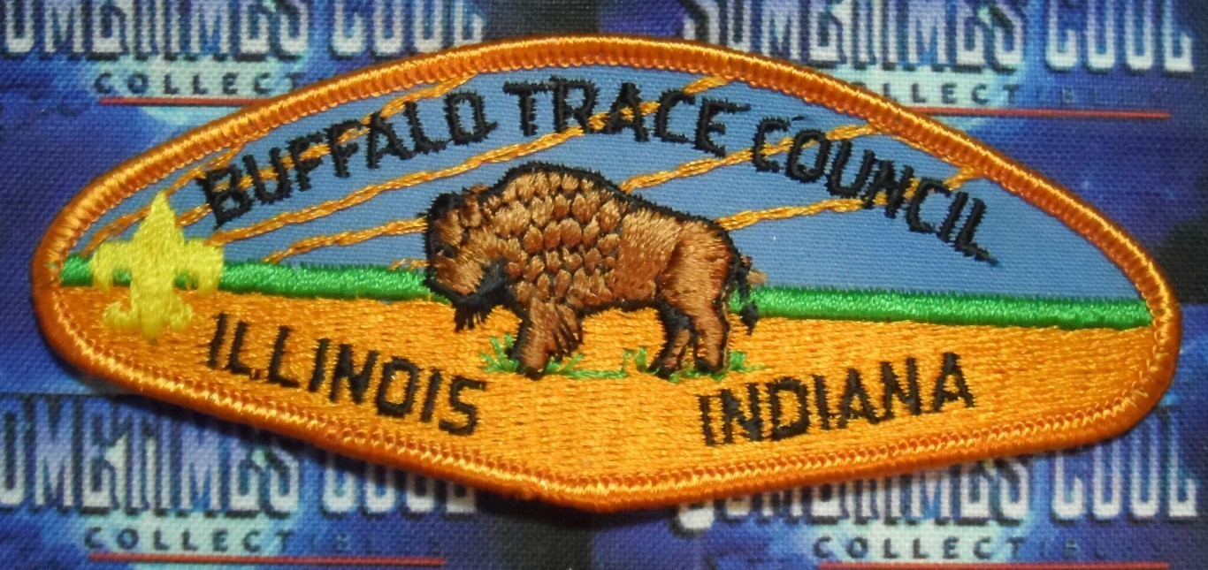 Council Patch : Buffalo Trace Council Illinois/Indiana