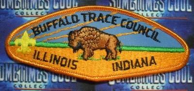 Council Patch : Buffalo Trace Council Illinois/Indiana
