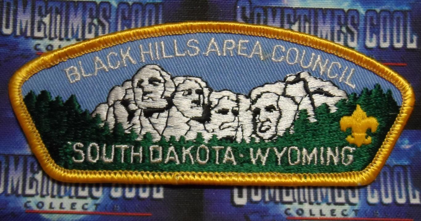 Council Patch : Black Hills Area Council South Dakota/Wyoming
