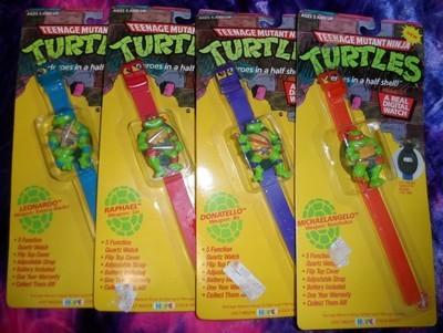 Teenage Mutant Ninja Turtles : Figure Flip Watches