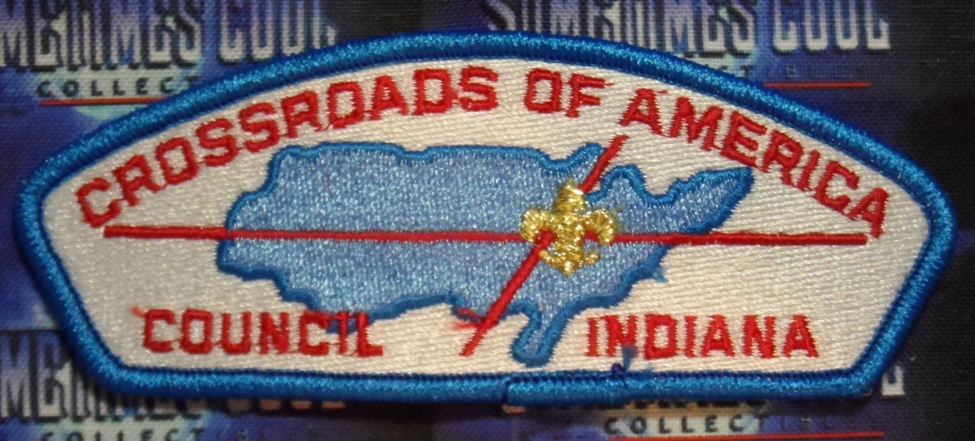 Council Patch : Crossroads of America Council Indiana