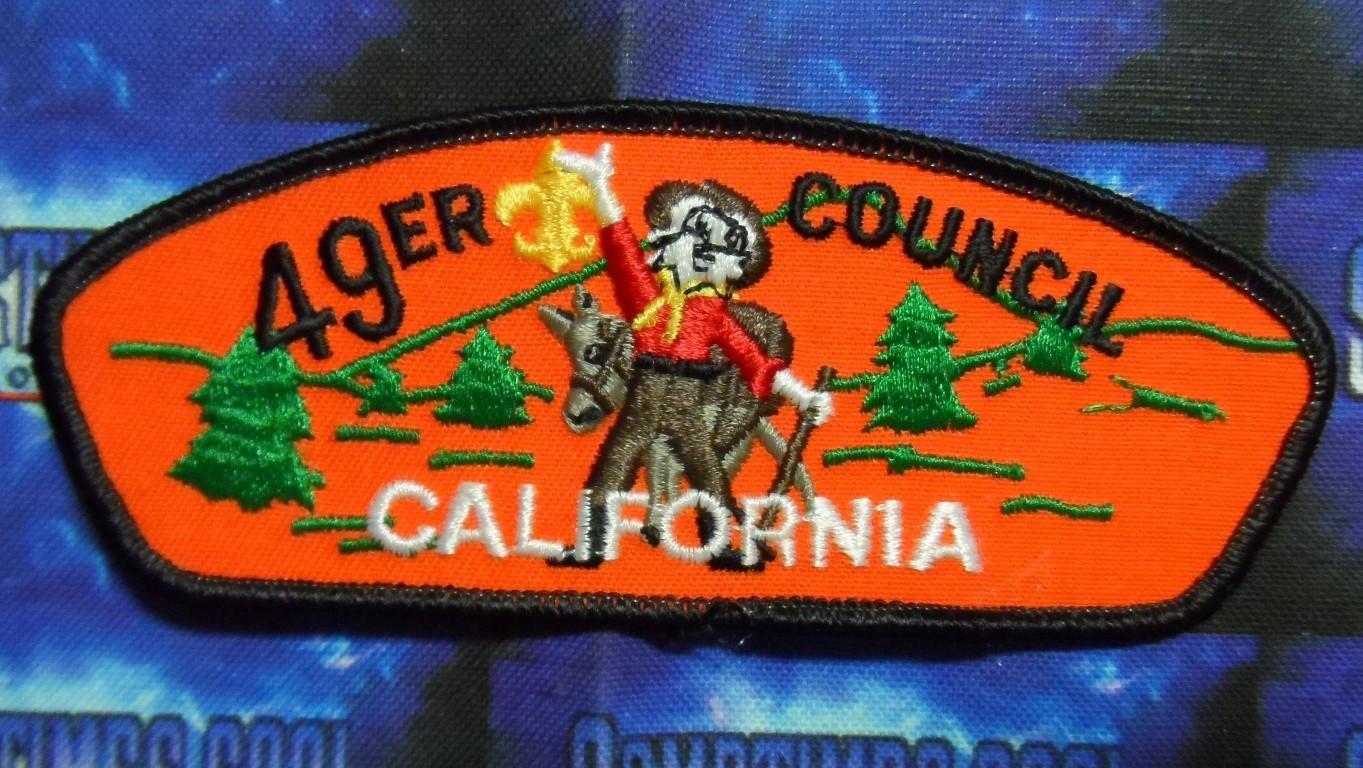 Council Patch : 49er Council California