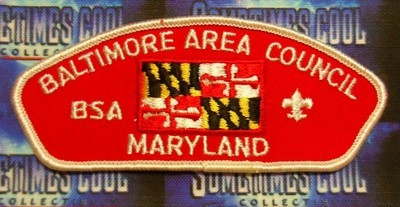Council Patch : Baltimore Area Council Maryland