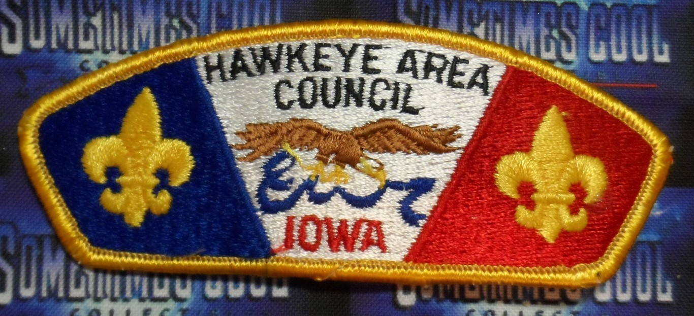 Council Patch : Hawkeye Council Iowa