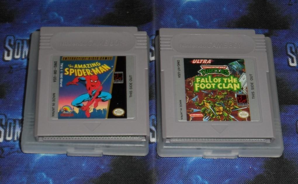 Nintendo GAMEBOY : Amazing Spider-Man & T.M.N.T.
