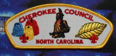 Council Patch : Cherokee Area Council North Carolina