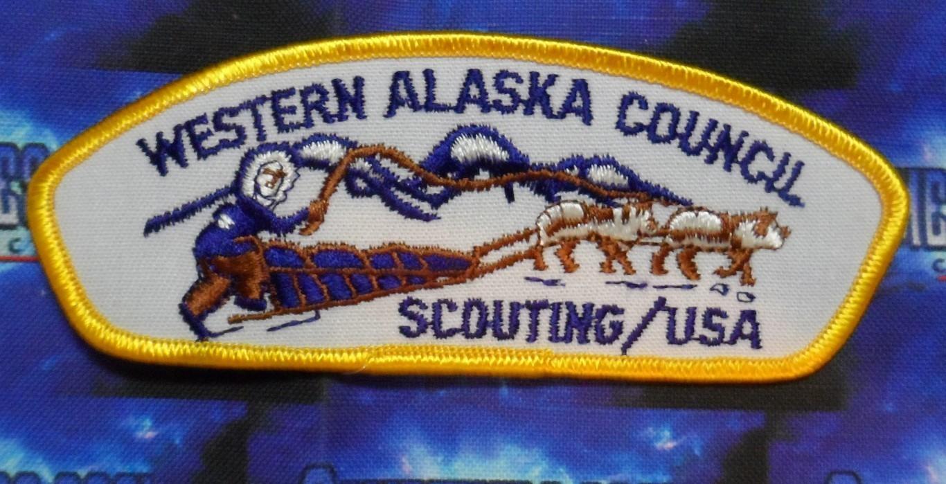 Council Patch :  Western Alaska Council Alaska