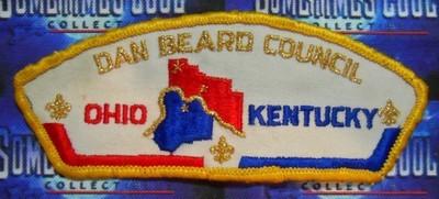 Council Patch : Dan Beard Council Ohio/Kentucky
