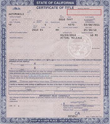 California DMV Registration Service   Vehicle Registration ...
