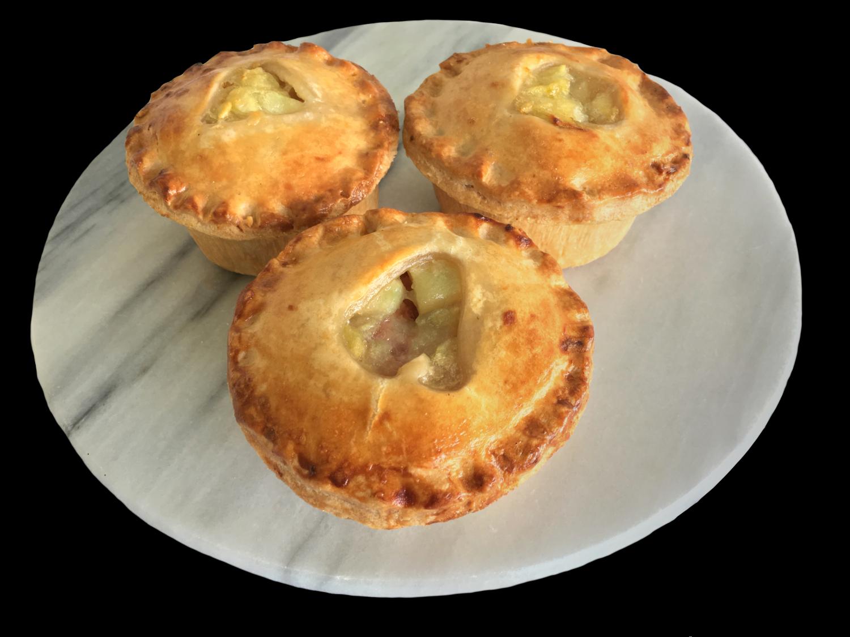 Gourmet Pork and Apple Pie - Dozen