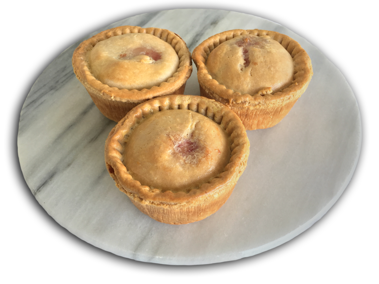 Jelly-less Pork Pies - Dozen