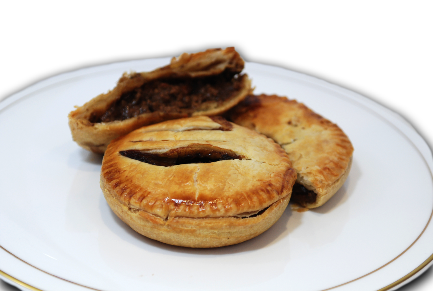 Savoury Mince Steak Pies - Dozen