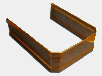 Copper Corrugated Square Downspout Strap